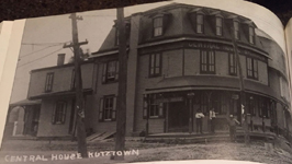 Central House 1908 Kutztown Basin Street