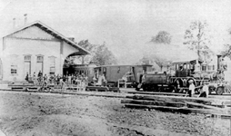 Kutztown Train Station 1870